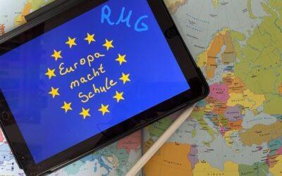 Europa macht Schule – Die 7c holt Europa ins (digitale) Klassezimmer