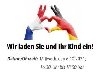 Deutsch-französisch bilingualer Nachmittag für Grundschulkinder und deren Eltern